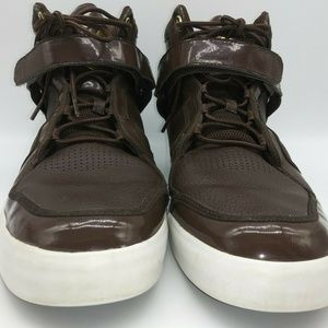Adidas Adi Rise Patent Leather High Top Sneaker 13